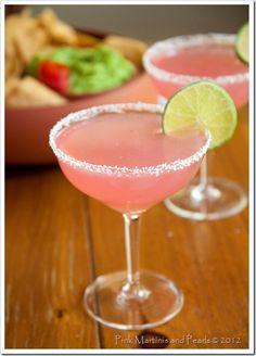 Pink Prickly Pear Margaritas