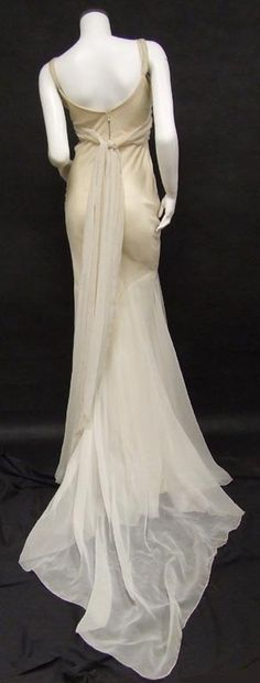 Edith Head gown, designed for Jean Harlow.