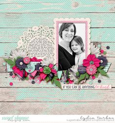 Humble and Kind by Meghan Mullens Font: DJB Lydia Print #sweetshoppedesigns #digitalscrapbooking #layout #scrapbooking #meghanmullens
