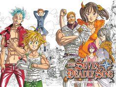 Fiche manga complète pour tout savoir sur Seven Deadly Sins ! Avis, informations, résumé et extrait du manga ! #Manga #SevenDeadlySins #Anime