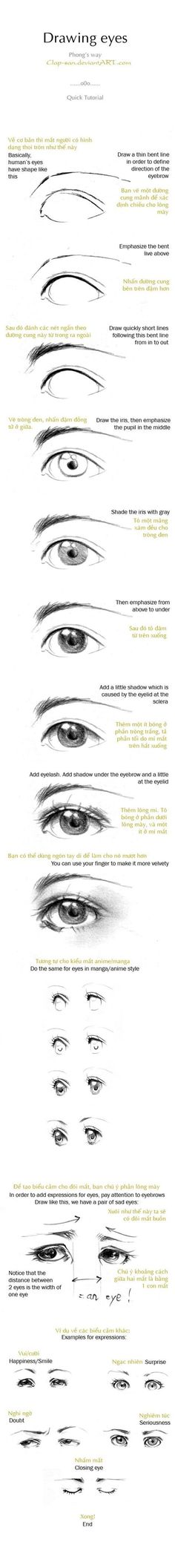 Eye Drawing Reference Guide   Drawing References and Resources   Scoop.it