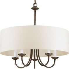 Found it at Wayfair - Burton 5 Light Drum Chandelier
