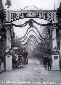 Brixton was once famed for its lavish Christmas decorations, with its upmarket showcase shopping street in Electric Avenue proving to be a v...