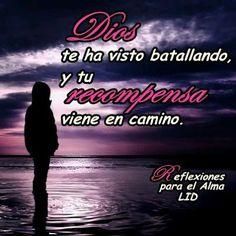 """""""SU RECOMPENSA VIENE EN CAMINO""""  Devocional diario: REFLEXIONES PARA VOS http://reflexionesparavos.blogspot.com/2013/03/regalo-celestial.html?spref=tw #ReflexionesParaVos #Dios #Milagro"""