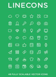 Polaris UI Kit + Linecons Icon Set (AI, PDF, PNG, PSD, SVG) | Smashing Magazine