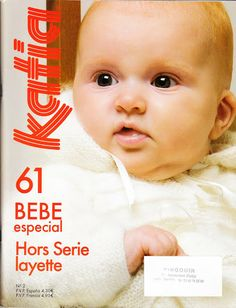 Album Archive - Katia Nº 2 Bebé especial Knitting Books, Crochet Books, Knitting For Kids, Baby Knitting, Knitting Magazine, Crochet Magazine, Knitting Basics, Crochet Bebe, Baby Cardigan