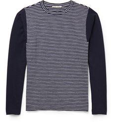Marni Striped Cotton Sweater   MR PORTER
