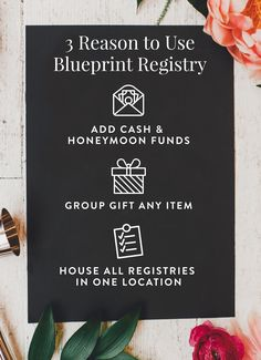 Discover a better way to register for your wedding with Blueprint!