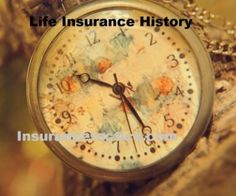 Short History Of Life Insurance In The World