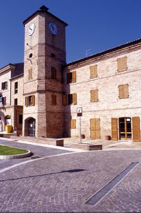 Porto Sant'Elpidio, Marche - Italy Clock tower