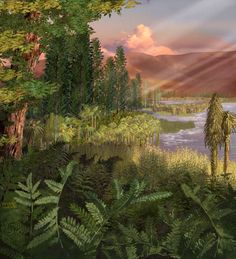 Triassic Period - Pinegreenwoods