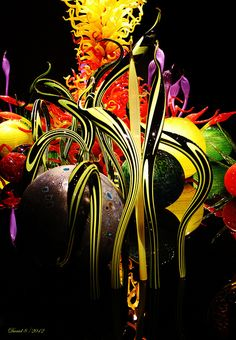 ~Chihuly~Glass Art~