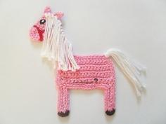 Crochet Pink Pony