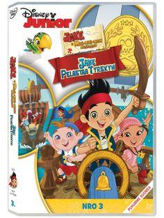 Jake ja Mikä-mikä-maan merirosvot 3: Jake pelastaa Tyrskyn -dvd