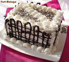 Cake Icing, Sweet Cakes, Malaga, Tiramisu, Sweets, Cooking, Healthy, Ethnic Recipes, Desserts