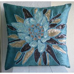 Centerpiece  Pillow Sham Covers  24x24 Inches by TheHomeCentric