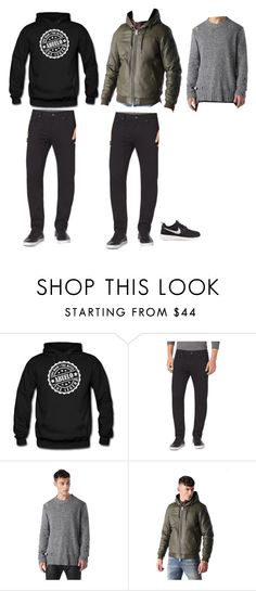 """""""hjh"""" by sah-dias ❤ liked on Polyvore featuring Michael Kors, Diesel and NIKE"""