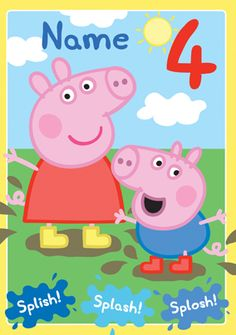 60 best girls birthday cards images on pinterest anniversary buy peppa pig cards at funky pigeon filmwisefo