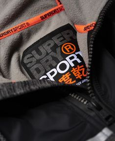 Shop Superdry Mens Training Hybrid Zip Hoodie in Charcoal Grit. Buy now with free delivery from the Official Superdry Store. Gym Outfit Men, Superdry Mens, Sports Logo, Gym Wear, Post Workout, Zip Hoodie, Men's Hoodies, Polo Shirt, Training