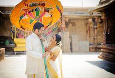Pre-Wedding Shoot @ Bhoganandishwara Temple Bangalore by anoopphotog