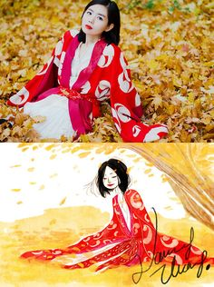 The East is Red. (by Nancy Zhang) http://lookbook.nu/look/4216297-The-East-is-Red