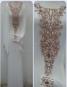 Caftans très fantaisies Dubai / abaya jalabiya dames Maxi robe de mariage robe de boucles d