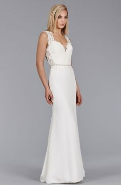 Jim Hjelm :: Sweetheart A-Line Wedding Dress  with Empire Waist in Silk Blend. Bridal Gown Style Number:33013343