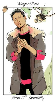 Magnus drawn by the amazing Cassandra Jean :3