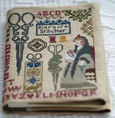 Needle book  -  Quaker aux ciseaux
