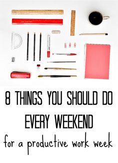 need to do all of these tips this weekend!