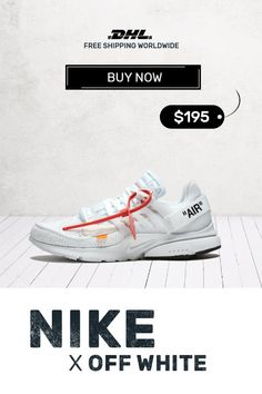 purchase cheap 9f122 f33af How to get mens size Nike Off-White Air Presto White sneakers