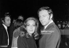 Photo d'actualité : Romy Schneider and Maurice Ronet during the...