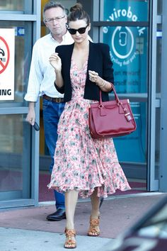 See chic and comfortable celebrity looks. Click here for more summer staple inspiration.
