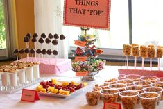 """things that pop"" baby shower"
