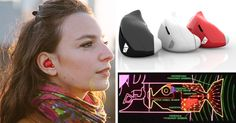 The world's first smart earpiece let's two people, speaking different languages, understand each other through translation. It's the result of two years of Diy Electronics, Electronics Projects, Frequency, Types Of Technology, Tempo Real, First Language, Electronic Media, S Word, Foreign Languages
