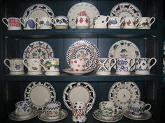 Dresser with Emma Bridgewater pottery