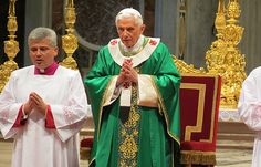 Pope's last Mass will be on Ash Wednesday in St. Peter's :: Catholic News Agency (CNA)