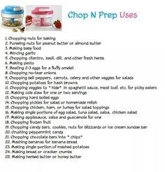 Tupperware Chop N Prep Uses www.beckyfrench71.my.tupperware.com