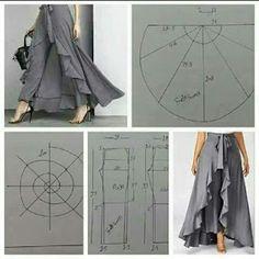 VARIEDADES LUGLE MANUALIDADES CON COSTURA.: Moldes de ropa intimás, blusas y pantalones