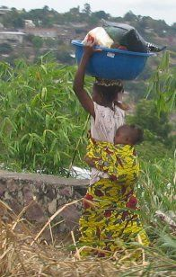 Democratic Republic of Congo. My hearts desire is to experience life in my husbands homeland.