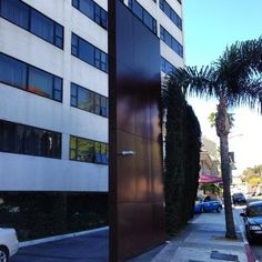 Entrance to celebrity hotspot The #Mondrian #Hotel in West Hollywood, home to Asia de Cuba and the popular #SkyBar - via Glitterati Private Tours