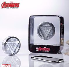 Marvel Avengers Age of Ultron ARC Reactor Power Bank