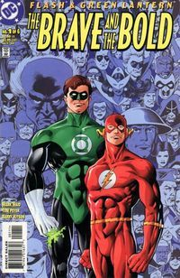Brave & The Bold Flash & Green Lantern Complete DC Comics Ser. Green Lantern Hal Jordan, Green Lantern Corps, Kid Flash, Comic Book Covers, Comic Books Art, Book Art, Nightwing And Starfire, Univers Dc, Brave And The Bold