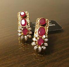 Mini Ruby Earing