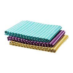 GLÄNTA  Tablecloth, assorted colors  $19.99