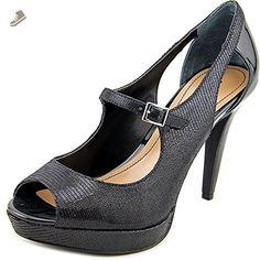 Style & Co. women's Katriane Platform Mary Jane Pumps, Black, Size 7.5 - Style co pumps for women (*Amazon Partner-Link)