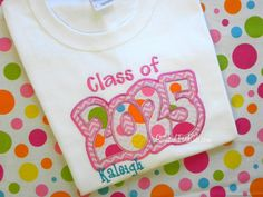 Hey, I found this really awesome Etsy listing at http://www.etsy.com/listing/110547747/personalized-school-spirit-class-of