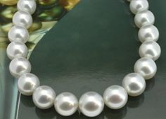 #Jewelry, #Necklaces Iris South Sea Pearl Necklace - White #1000Above, #HighestQuality, #Necklaces, #Pearl @ BrightJewelryStore.