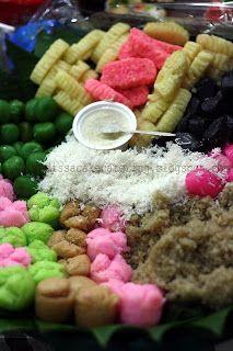 Another Indonesian Jajan Pasar Festive Cake Platters