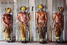 My god firefighters ❤ #sexy  @Christina & Neil  These Fire Fighters I'll put in my recipe book because this is my cup of TEA :)